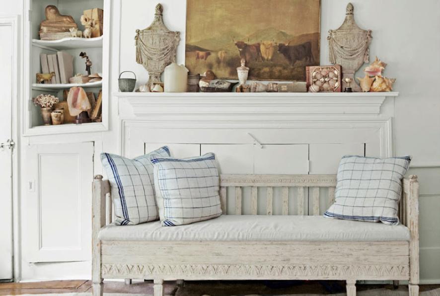 Muebles con pintura a la tiza una tendencia interesante - Mesas pintadas a la tiza ...