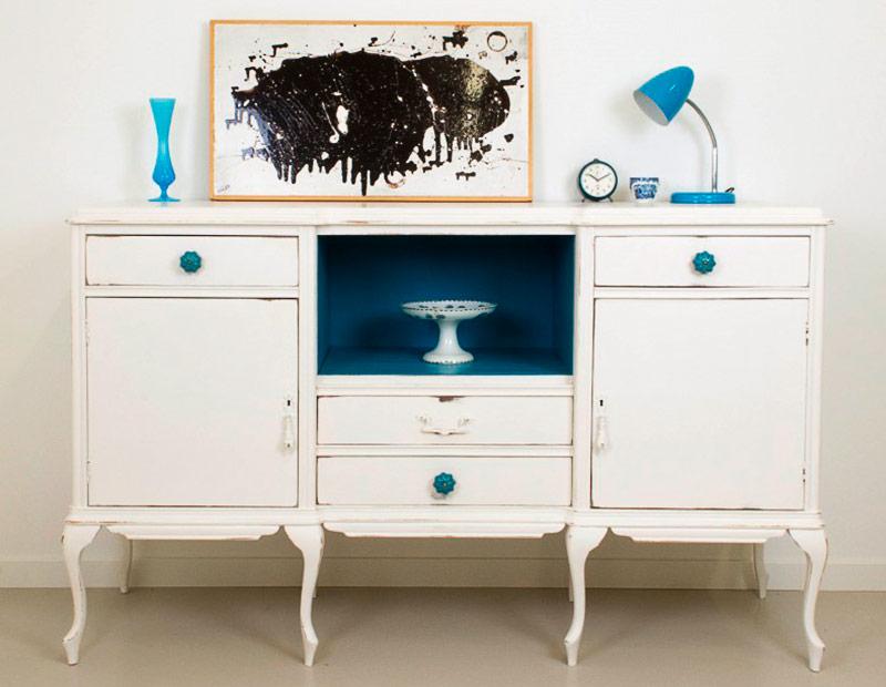 Muebles con pintura a la tiza una tendencia interesante for Muebles pintados a la tiza