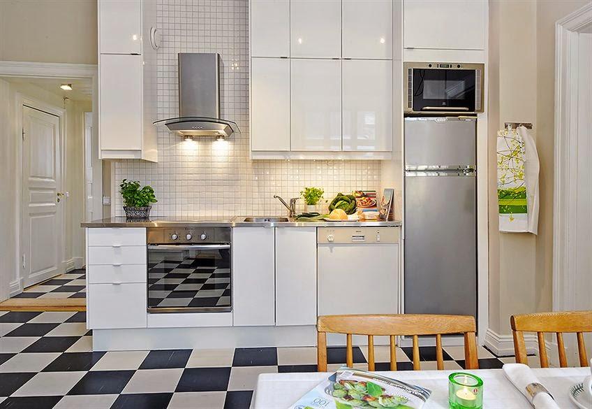 10 ideas de cocinas peque as los tiempos - Cocinas pequenas en forma de l ...