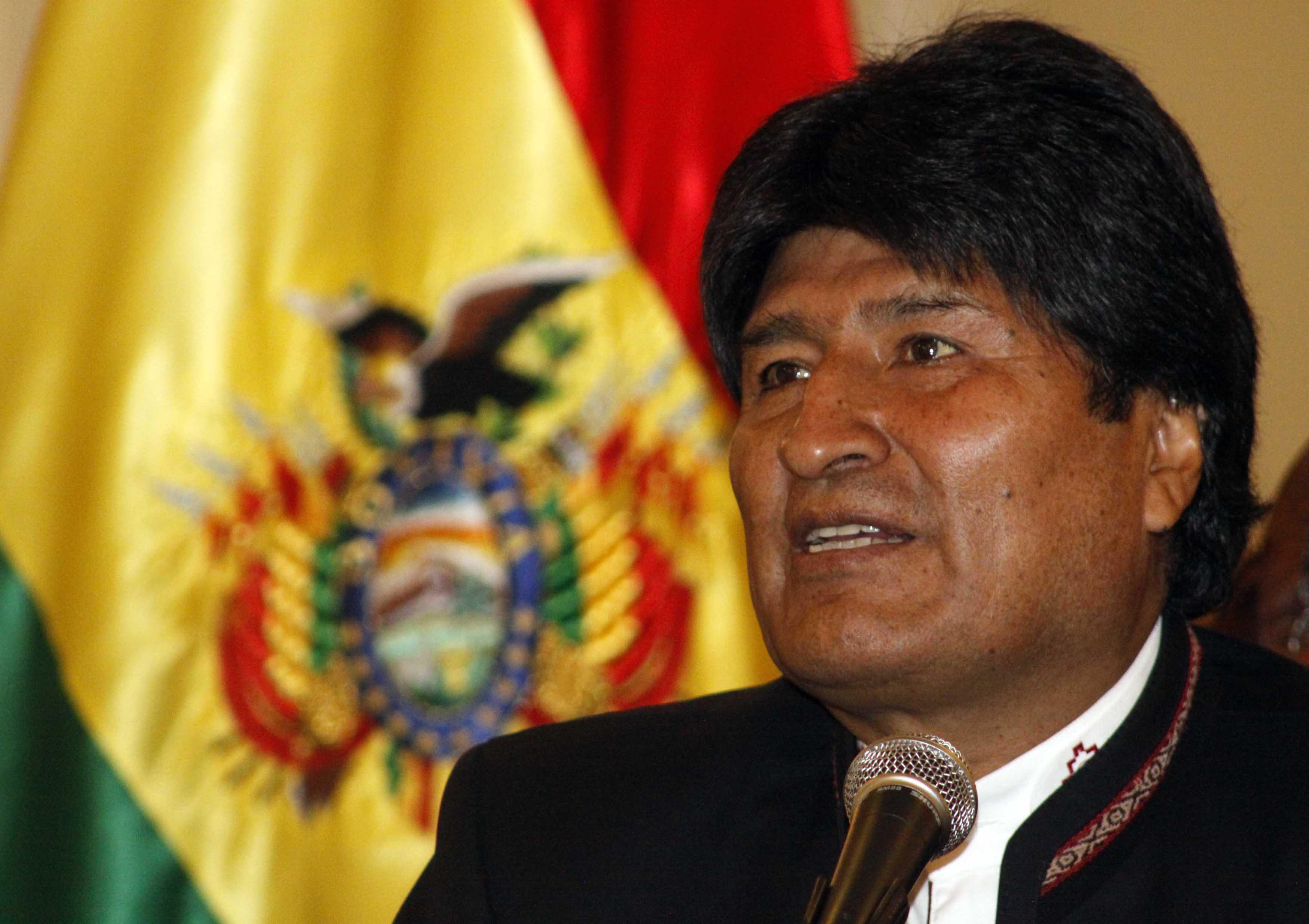 Resultado de imagen de fotos de Evo Morales