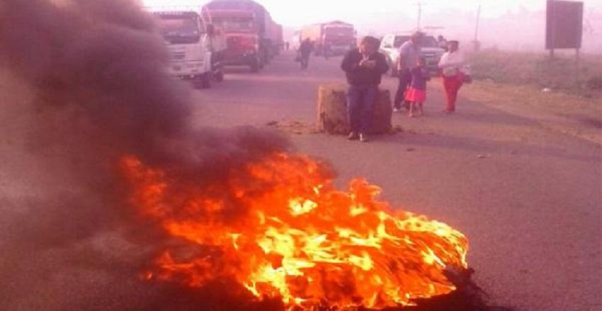 Guarayos radicaliza bloqueos y se suma el municipio de Urubichá - Los Tiempos