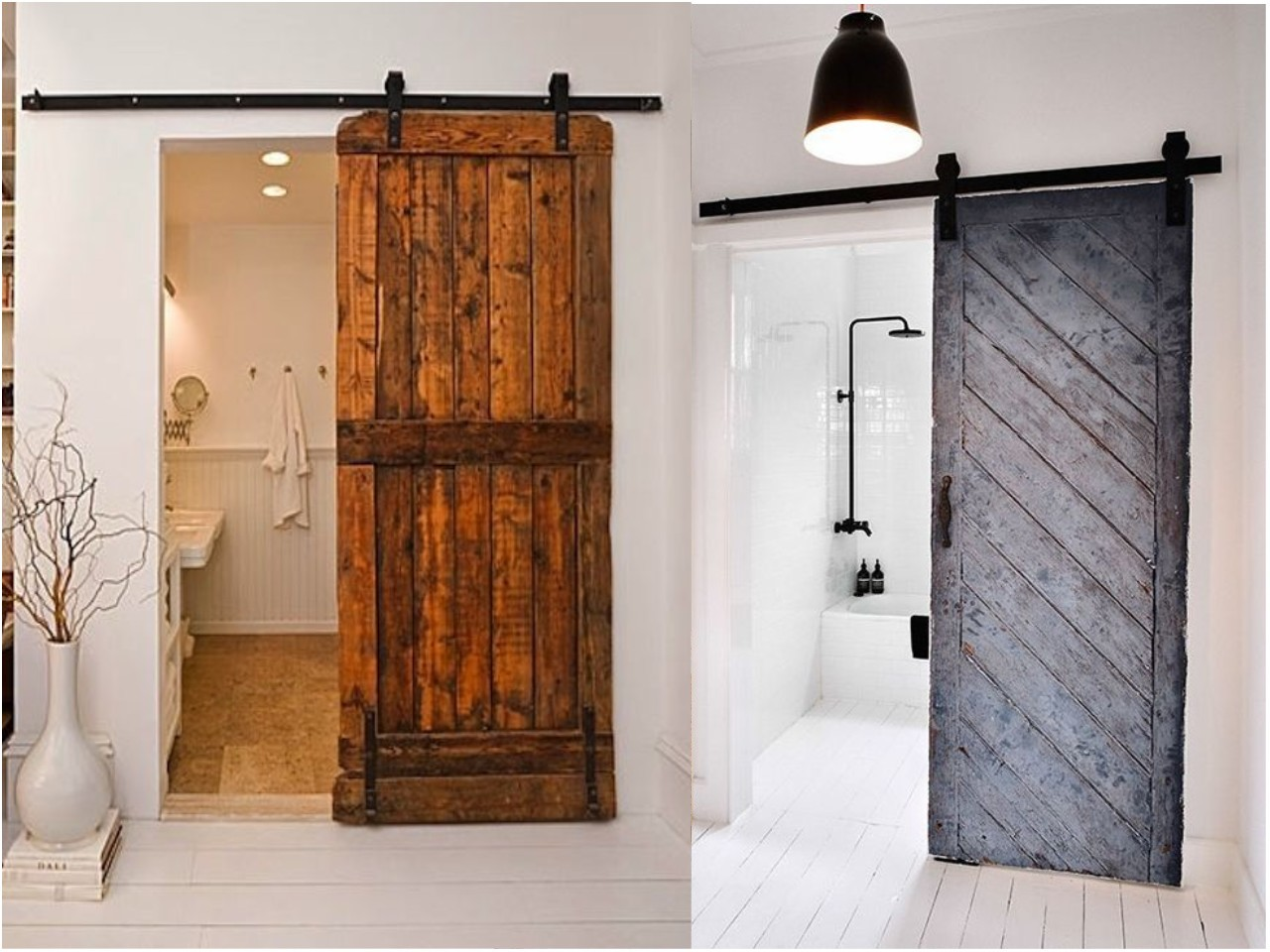10 ideas de puertas corredizas los tiempos for Puertas antiguas para decoracion