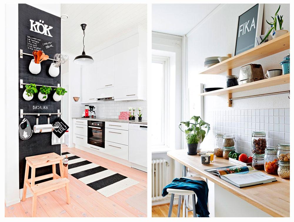 Ideas para aprovechar las paredes en la cocina los tiempos for Ideas aprovechar espacio cocina