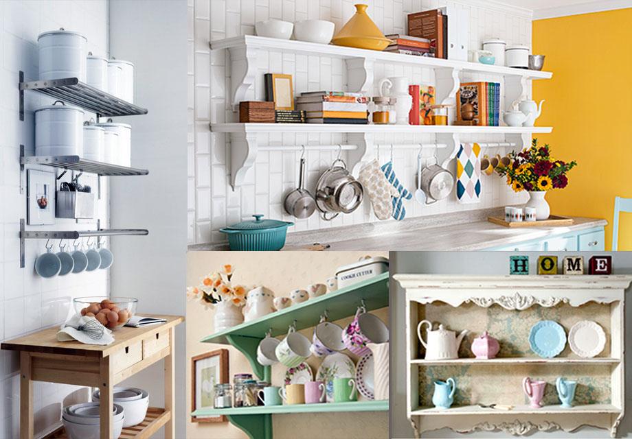 Ideas para aprovechar las paredes en la cocina los tiempos for Decoracion de cocinas modernas fotos