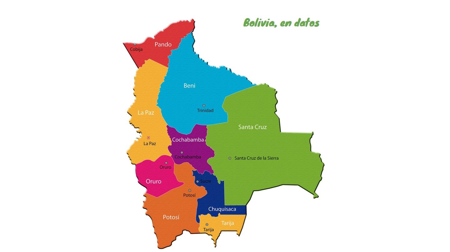 bolivia mapa MAPA INTERACTIVO] Los datos que necesitas saber de Bolivia | Los  bolivia mapa