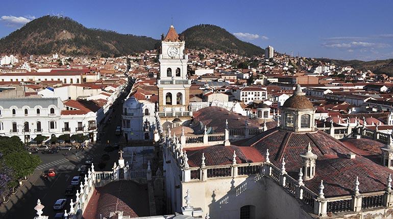 Sucre la ciudad de la recoleta - lostiempos.com