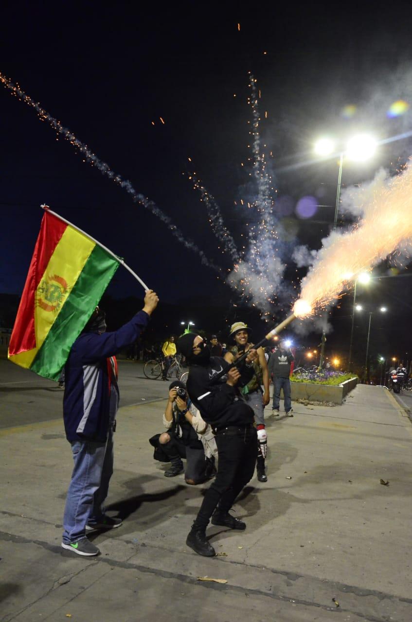 Festejos tras asunción de la nueva Presidenta de Bolivia - Los Tiempos