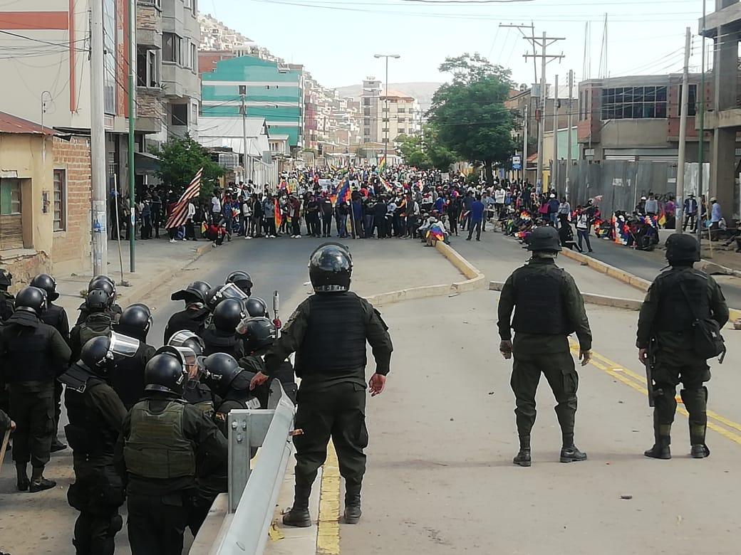 Pobladores de la zona sur y el valle alto piden entrar a la plaza principal de Cochabamba - Los Tiempos