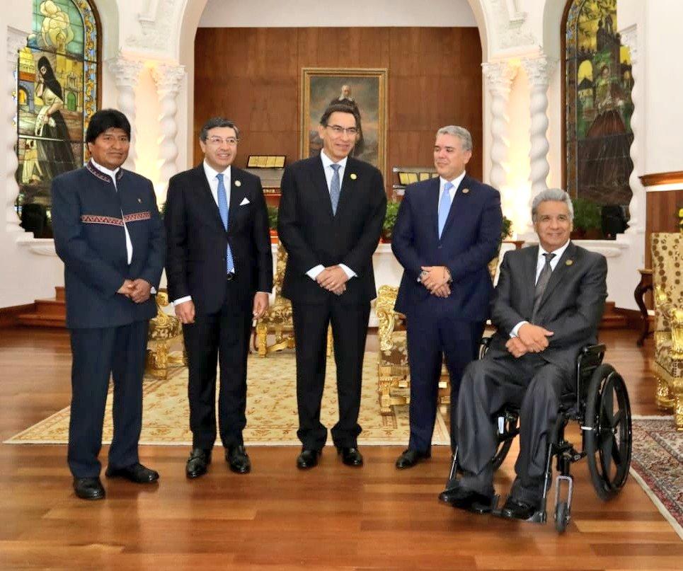 Resultado de imagen para Consejo Presidencial Andino