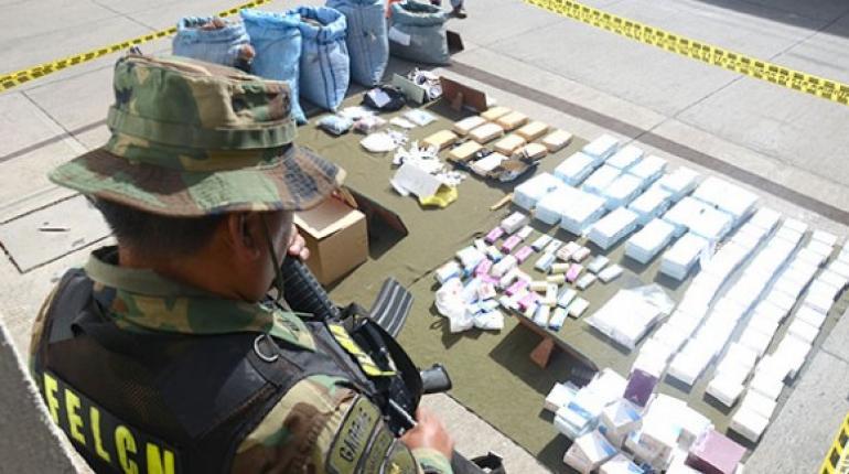 FELCN secuestró en febrero 5,1 toneladas de cocaína y marihuana en el país    Los Tiempos