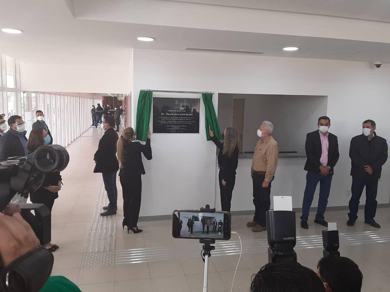 """Doctor Óscar Urenda"""", es el nombre del nuevo hospital de Montero ..."""