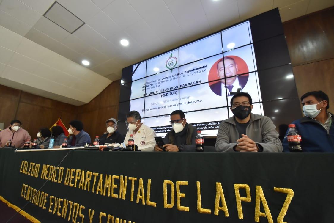 Médicos de La Paz piden cuarentena rígida y suspensión de las subnacionales  | Los Tiempos