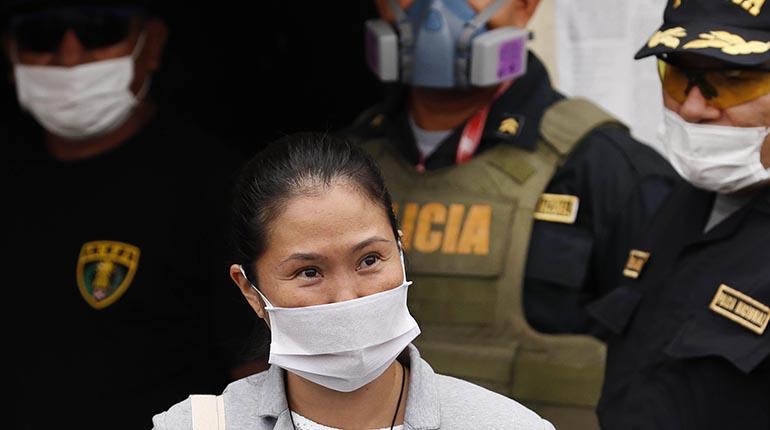 Declaraciones de Keiko Fujimori desatan lluvia de críticas