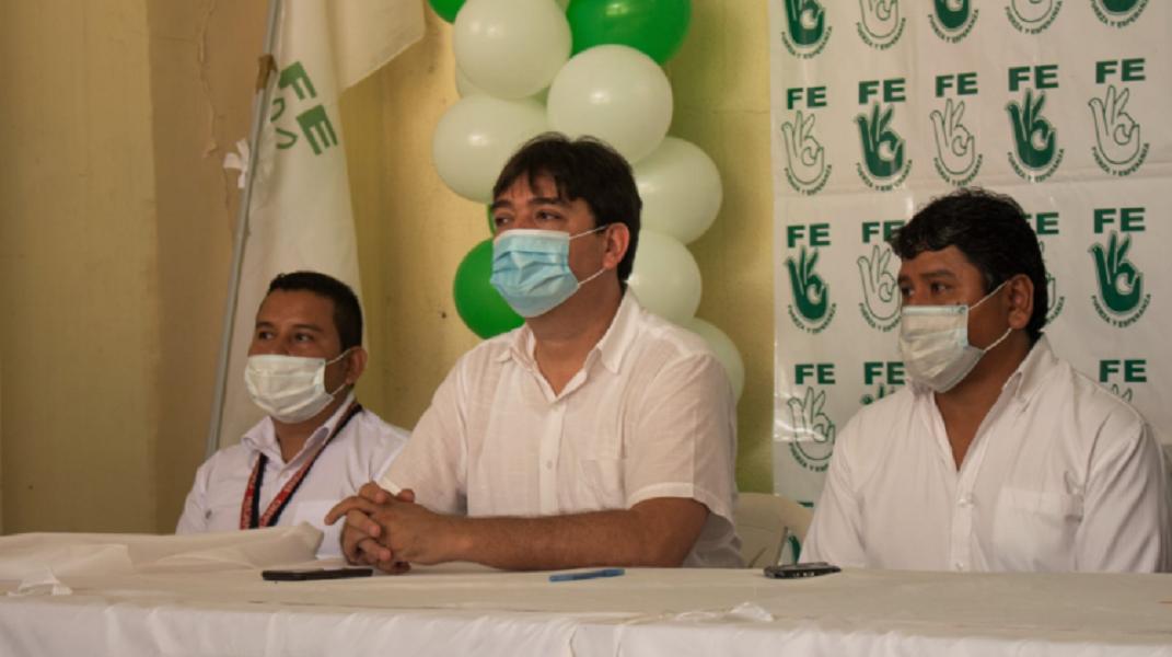 José María Cabrera declina su candidatura a la Gobernación de Santa Cruz