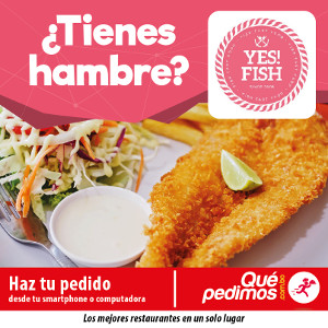 Que pedimos - Yes Fish