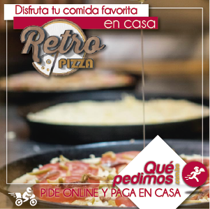 Que pedimos - Retro Pizza