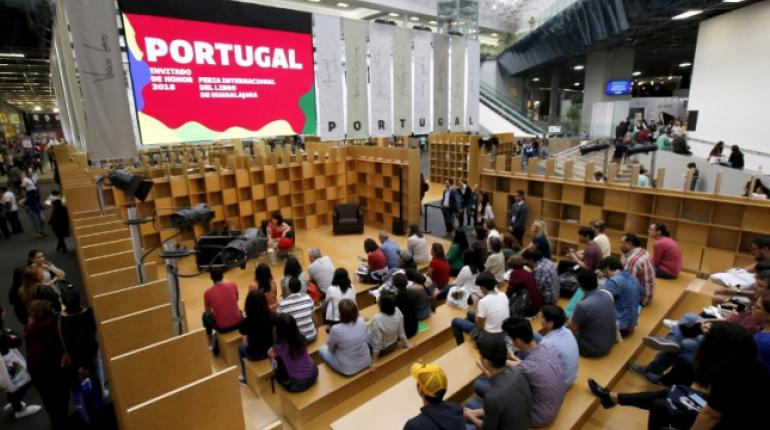 El evento inaugural de la 32 Feria Internacional del Libro de Guadalajara