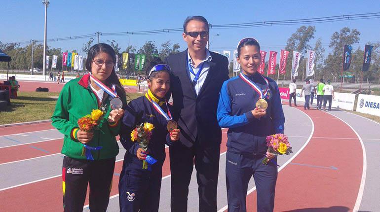 Génesis Romero gana medalla de plata en Suramericano de Atletismo