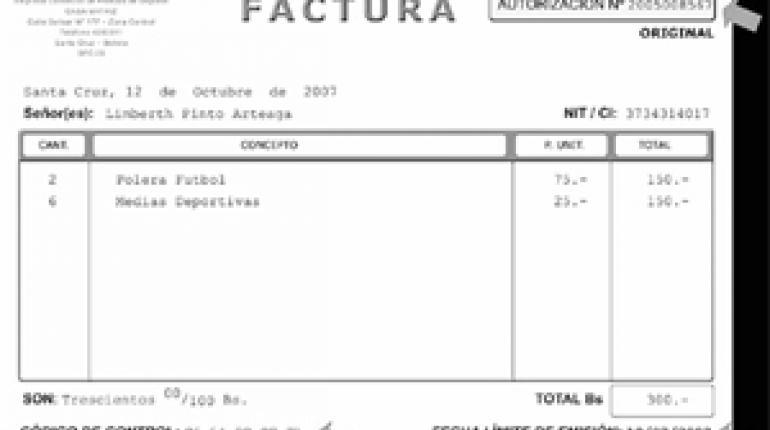 nuevas facturas y formulario 110 están vigentes desde hoy los tiempos