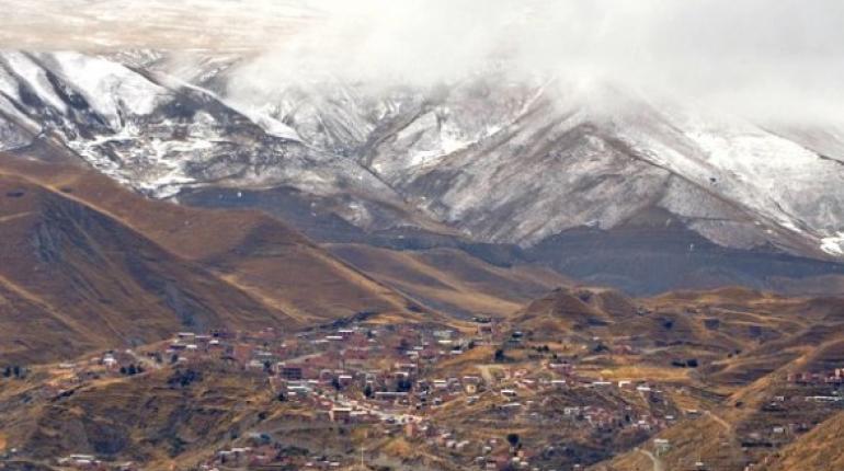 Manto blanco de nevada cubrió El Alto, altiplano y parte de La Paz ...