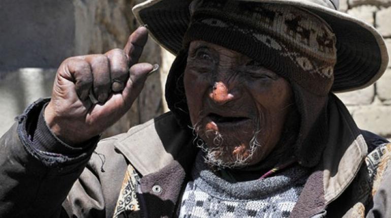 Indígena boliviano de 123 años, el hombre más longevo del mundo ...