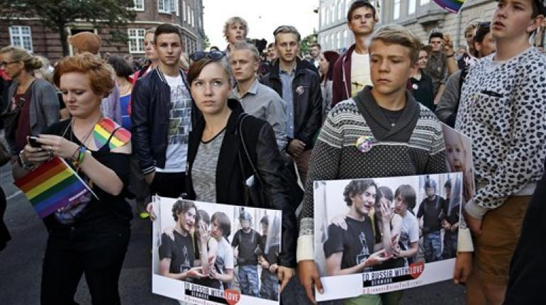 Ley antihomosexual en rusia