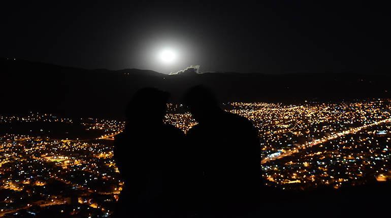 Noche De Superluna En Cochabamba Los Tiempos