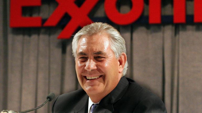 Resultado de imagen para Trump nombra secretario de Estado al jefe de ExxonMobil, Rex Tillerson