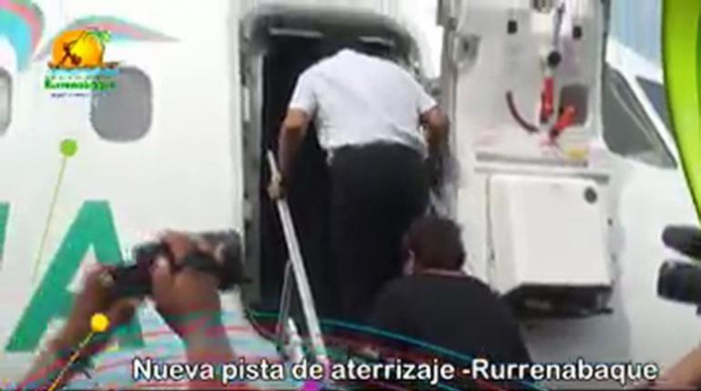Vídeo y fotografías muestran que Evo estuvo en avión de LaMia   Los ...