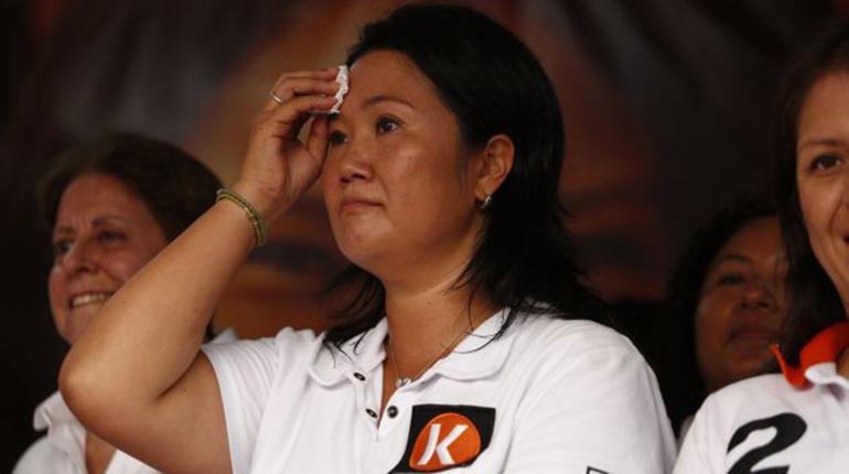 Resultado de imagen para KEIKO FUJIMORI TRISTE