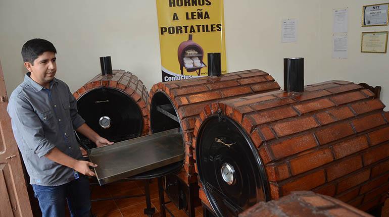 Hornos Del Campo Portátiles Y Con Ladrillo Refractario Los Tiempos