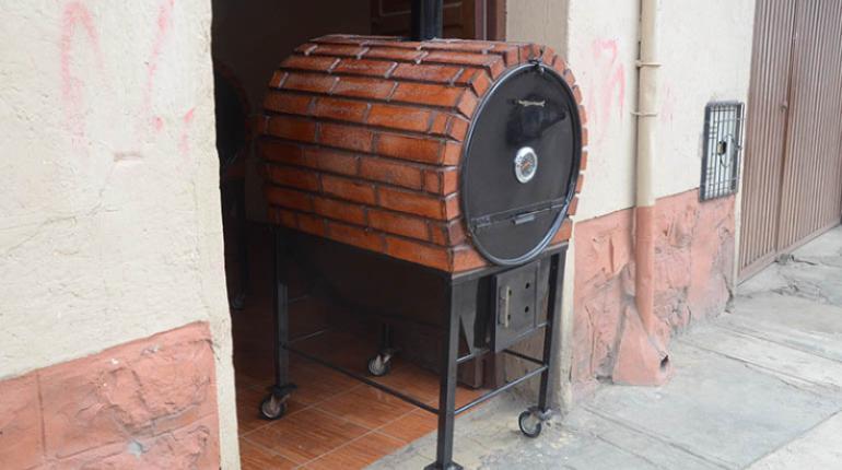 Hornos del campo port tiles y con ladrillo refractario - Chimeneas de ladrillo refractario ...