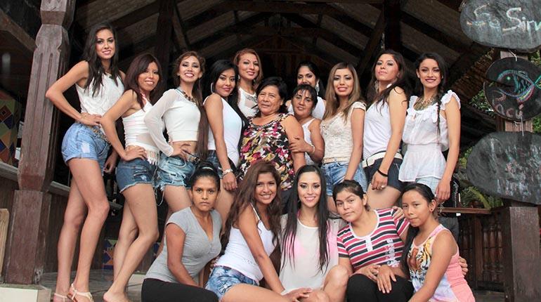 Fotos de las candidatas a miss cochabamba 2013