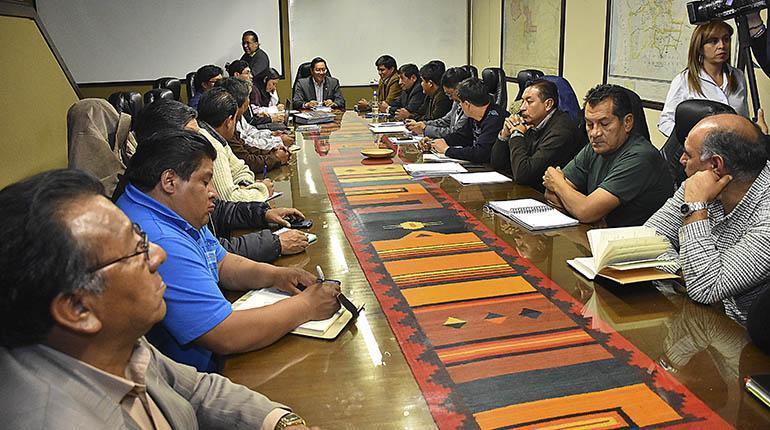 Liberación condicional de 8 dirigentes de transporte pesado, viabiliza dialogo con gobierno nacional