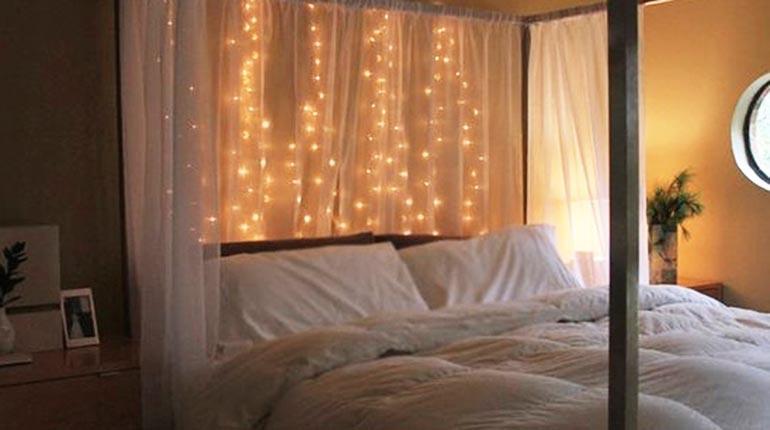 Ideas para decorar tu cuarto con luces los tiempos - Habitaciones con luces ...