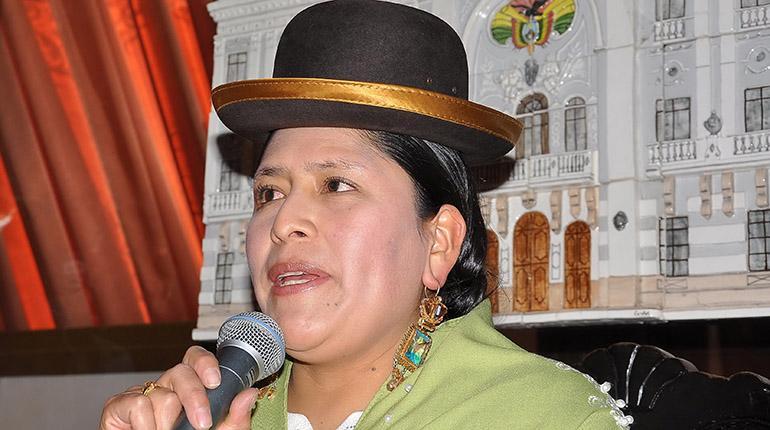 La ministra de Justicia, Virginia Velasco. | Foto de archivo | APG