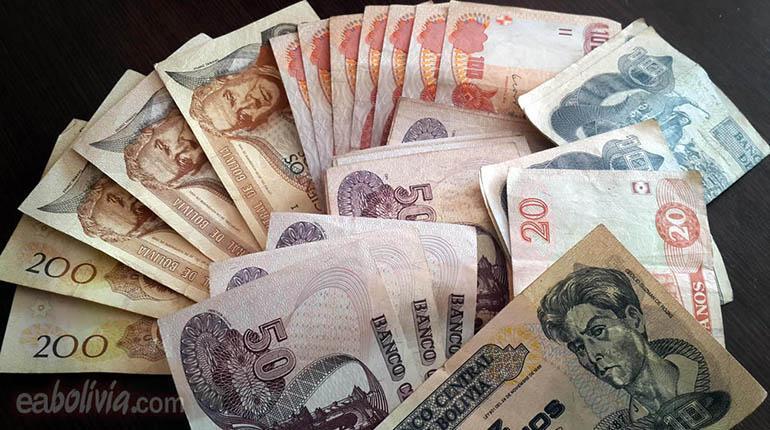 Dinero En Bolivianos Imagen Irativa Los Tiempos