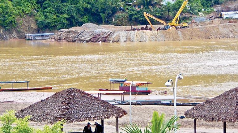 La construcción del puente y el contraste de Rurrenabaque. | Mónica Oblitas