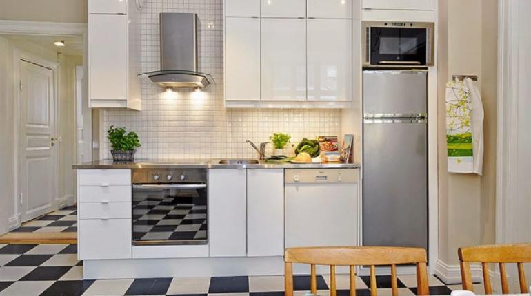 Pisos para cocinas pequenas la idea de for Ideas decoracion cocinas pequenas