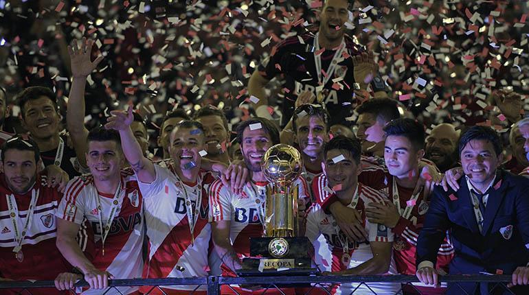 River plate campe n de la recopa sudamericana 2016 los Chimentos dela farandula argentina 2016