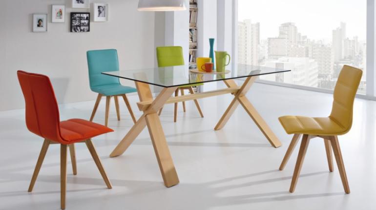 Mesas de vidrio para comedor los tiempos - Mesas de comedor modernas de cristal ...