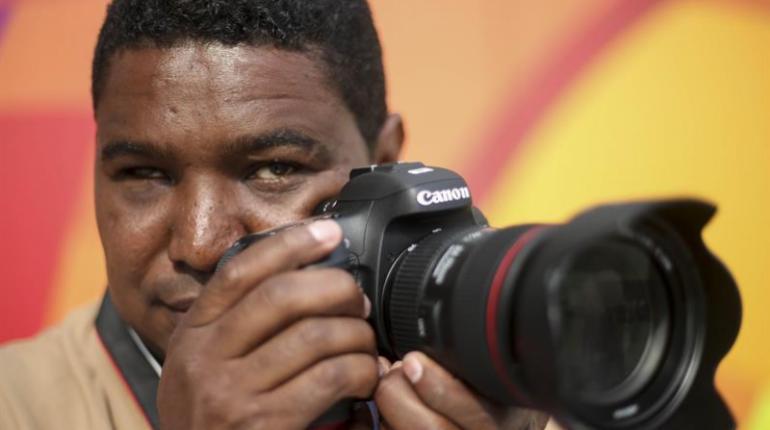 Joao Maia, el fotógrafo ciego de los Juegos Paralímpicos