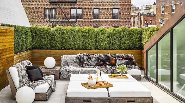 Ideas geniales para decorar jardines pequeños y terrazas Los Tiempos -> Decorar Jardins Pequenos