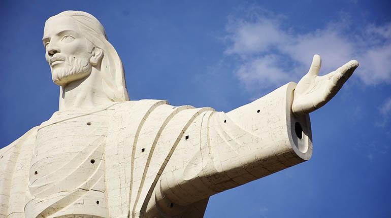 La Estatua Del Cristo Lleva 23 Anos Sin Ningun Mantenimiento Los