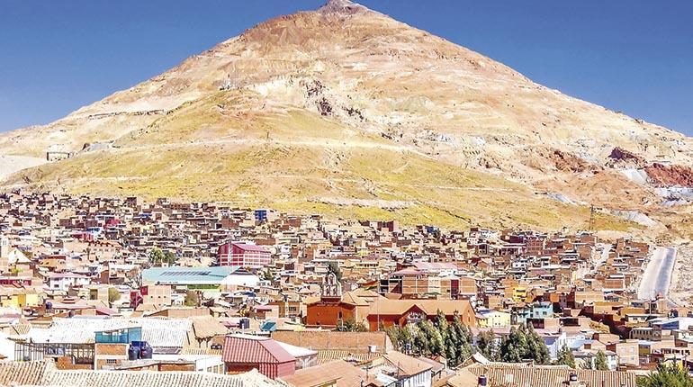 El Cerro Que Come Hombres Los Tiempos