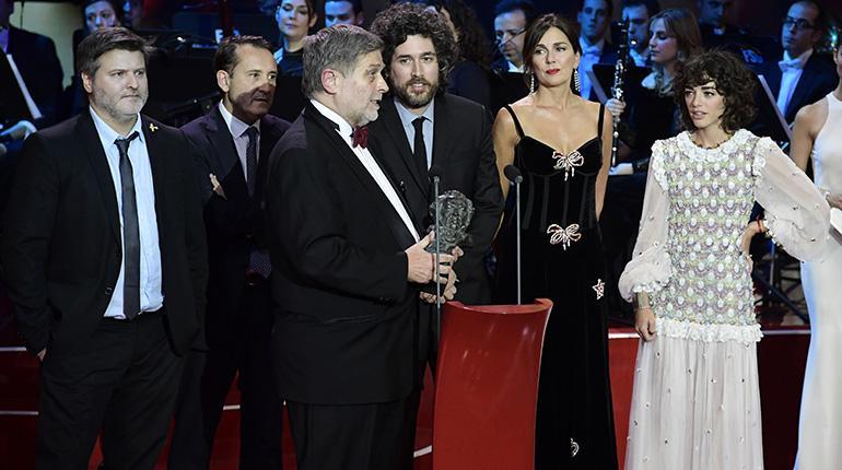 """a1 premios goya afp - """"El ciudadano ilustre"""" ganó el Goya como mejor película iberoamericana"""