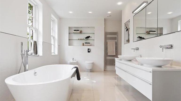 Baños Modernos De 2017. Casa. AGENCIAS