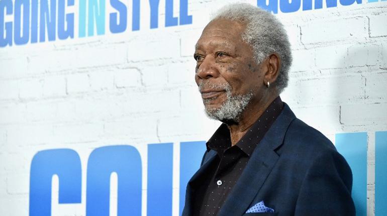 El actor Morgan Freeman. | Foto archivo | AFP