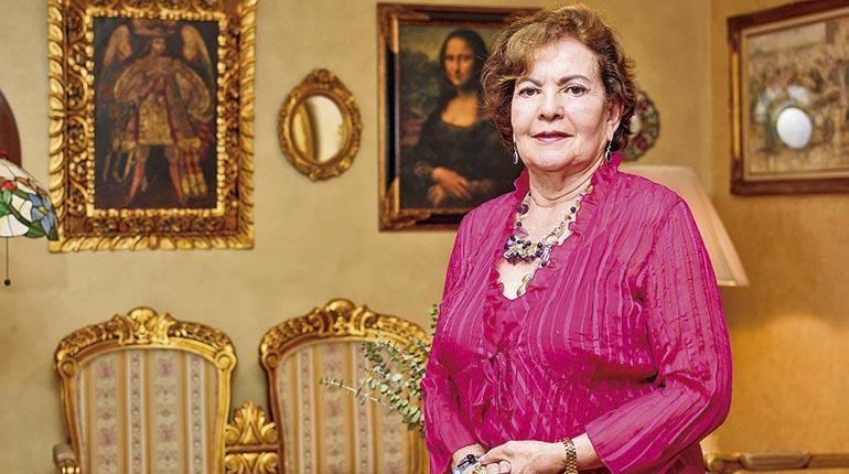 La ex soberana Consuelo Díaz. | Andrés Herbas