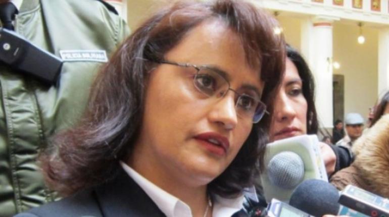 La Directora de la Autoridad de Supervisión del Sistema Financiero (ASFI), Lenny Valdivia. | ABI